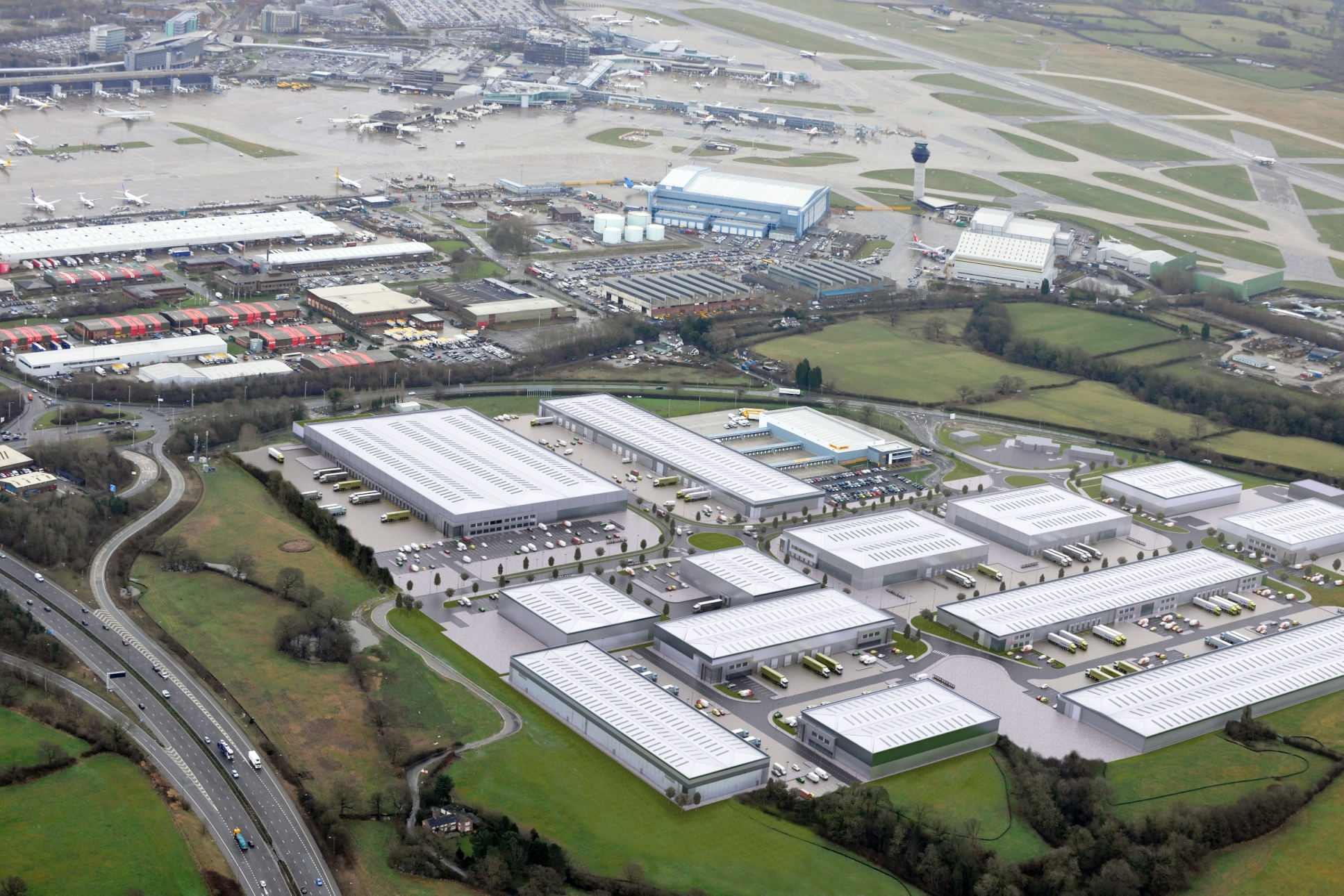 Planning Submitted For 260 000 Sq Ft Logistics Unit At
