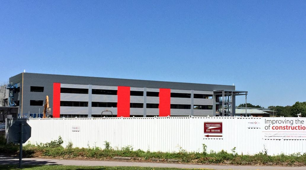 Construction Progress At Aviation Business Park In
