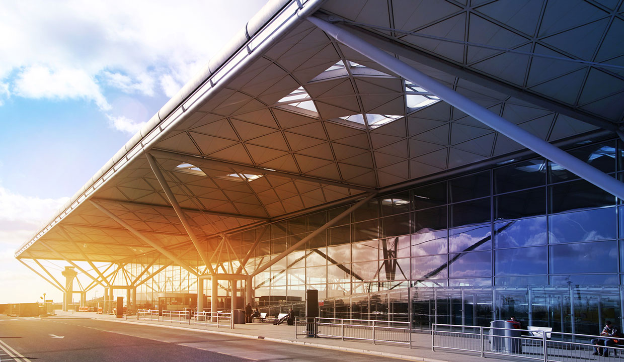 new harlow college site at london stansted airport